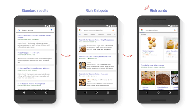 evolutie rich snippets